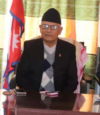 प्रदेश प्रमुख अधिकारीलाई थप उपचारको लागि काठमाडौं ल्याइयो