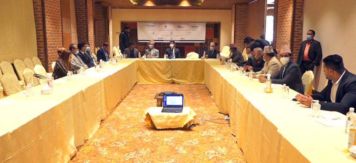 नेपाल र भारतका आइसिटी कम्पनीहरूबीच सम्झौता