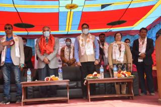 भारतको सहयोगमा दक्षिणकालीस्थित चम्पादेवी माविको पुनर्निर्माण कार्य  सुरु