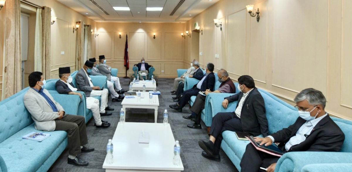 ओली र नेपाल समूहको बैठक सकियो, एमाले विवाद मिलाउन यस्तो सहमति