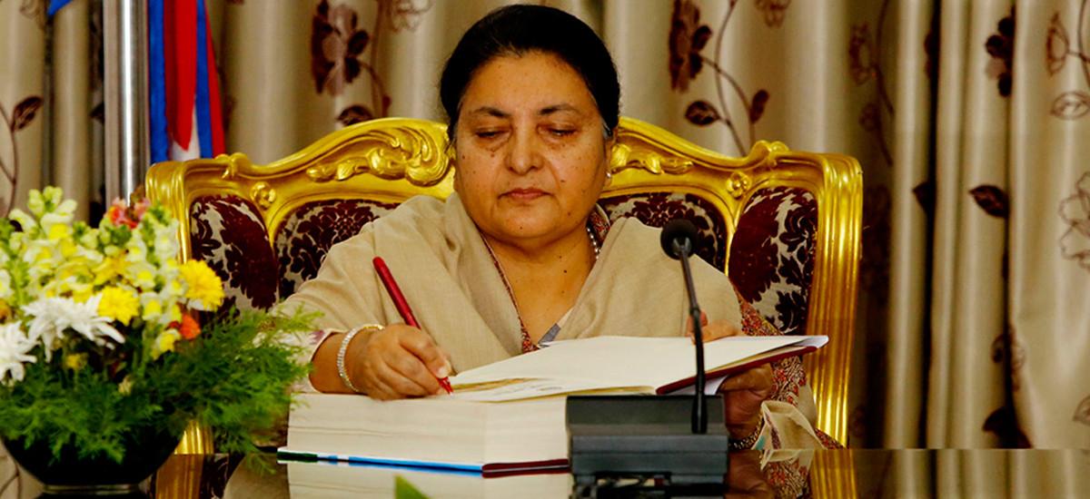 राष्ट्रपति भण्डारीबाट प्रधानसेनापति नियुक्त, ब्राह्मण जातिबाट यी बने पहिलो सेना प्रमुख