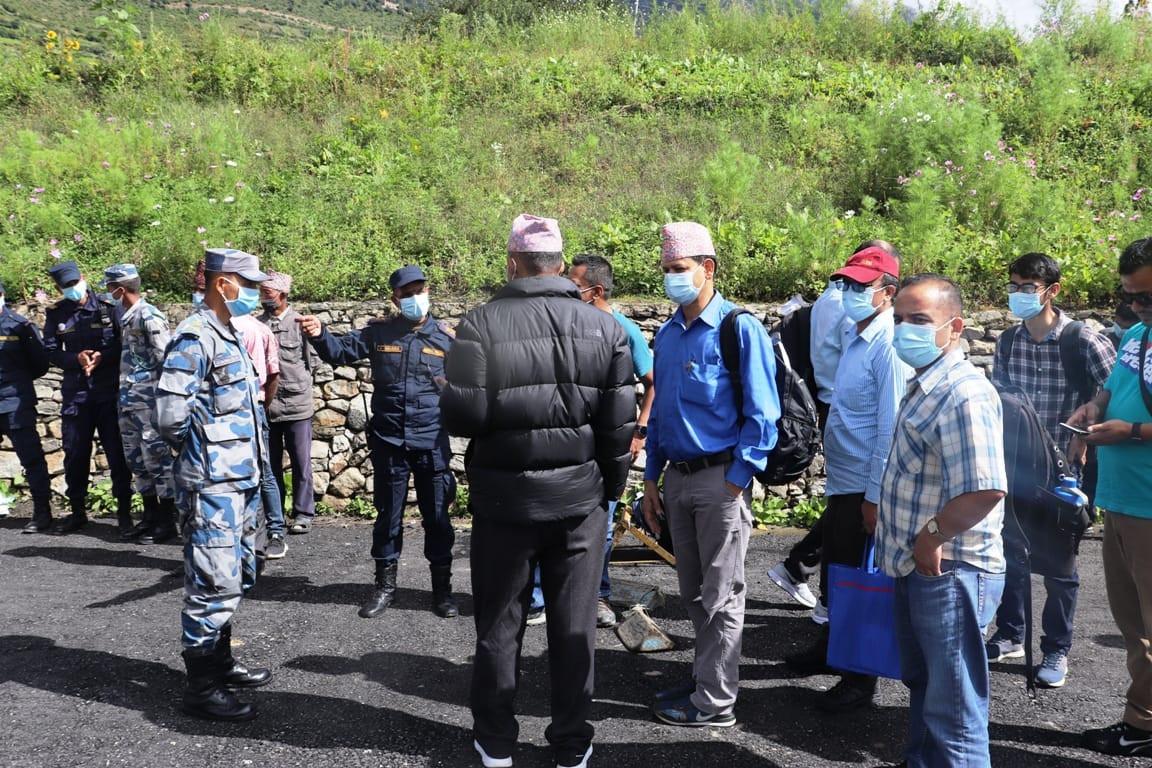 चीनले मिचेको नेपाली भूमि अध्ययन गर्न लाप्चा पुग्यो टोली, नेपालको राजनीति नै तरंगित